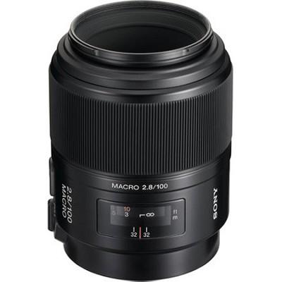 SAL100M28 - 100mm f/2.8 Macro Lens - OPEN BOX