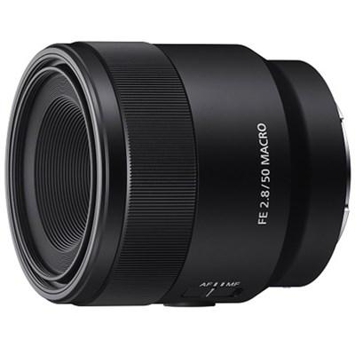 SEL50M28 FE 50mm F2.8 Full Frame E-Mount Macro Lens