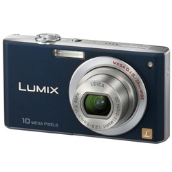 DMC-FX35A - Slim Compact 10 Megapixel Digital Camera (Blue) w/ 2.5- inch LCD