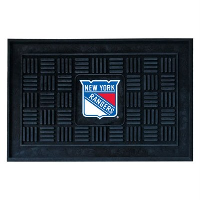 NHL New York Rangers Vinyl Heavy Duty Door Mat