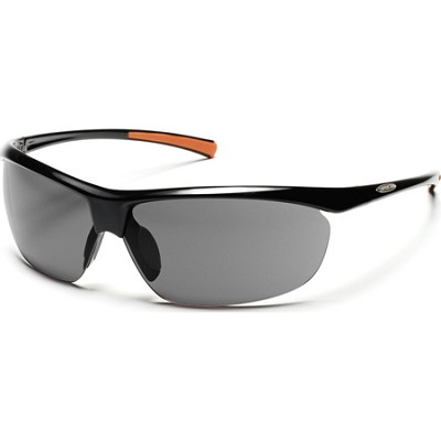 Zephy Sunglasses Black Frame/Gray Polarized Lens