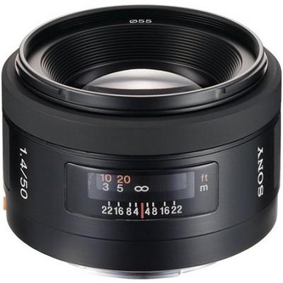 SAL50F14 - 50mm f/1.4 Standard Lens
