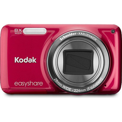 EasyShare M583 14MP 3.0` LCD Red Digital Camera