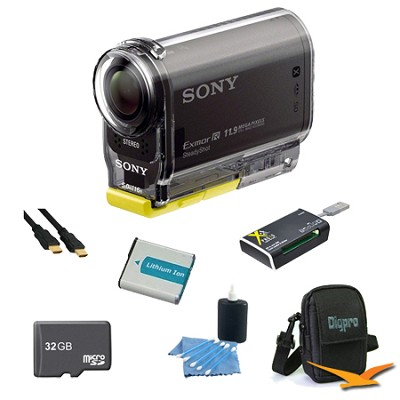 HDR-AS30V High Definition POV Action Video Camera 32GB Kit