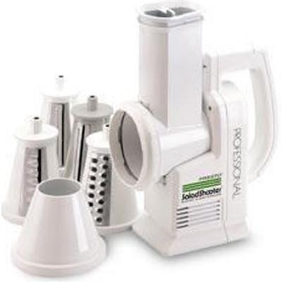 2970 - Professional SaladShooter Electric Slicer/Shredder, White