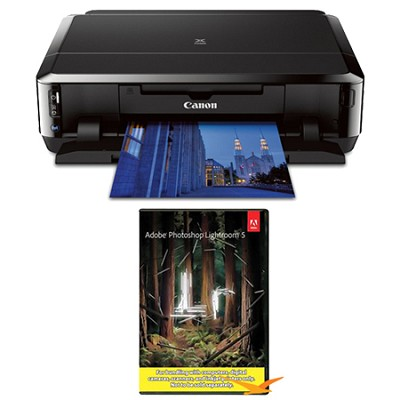 PIXMA IP7220 Premium Wireless Color Inkjet Photo Printer w/ Photoshop Lightroom
