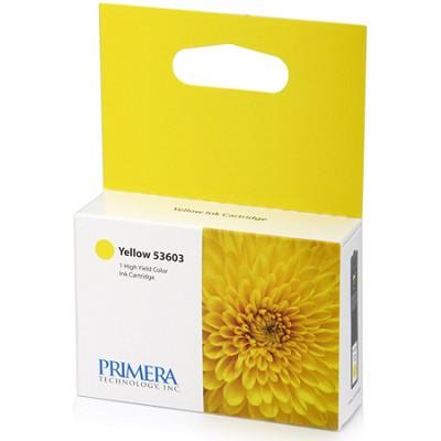 Yellow Ink Cartridge For Primera Bravo 4100 Series Printers (53603)