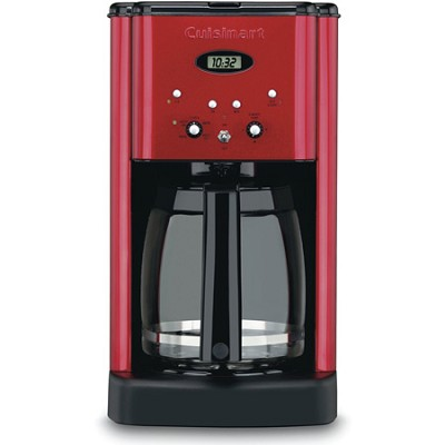 DCC-1200MR - Brew Central 12-Cup Programmable Coffeemaker (Metallic Red)