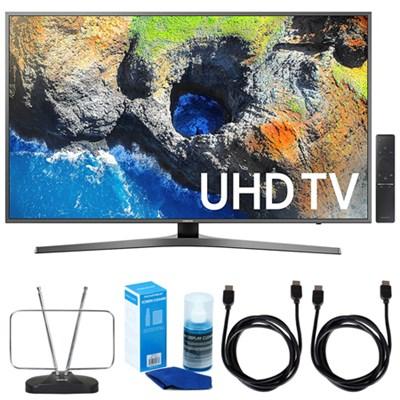65` 4K Ultra HD Smart LED TV (2017 Model) w/ TV Cut The Cord Bundle