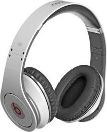 Beats by Dr. Dre Studio High-Definition Headphones- White (129438)