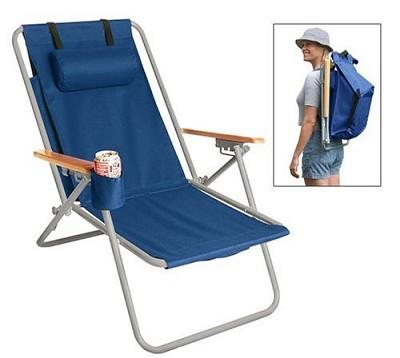 HiBack Deluxe Steel BackPack Chair