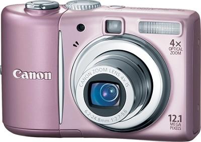 PowerShot A1100 12MP Digital Camera (Pink)