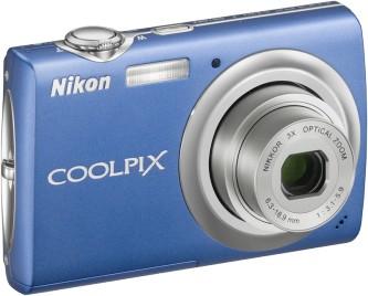 COOLPIX S220 Digital Camera (Cobalt Blue)