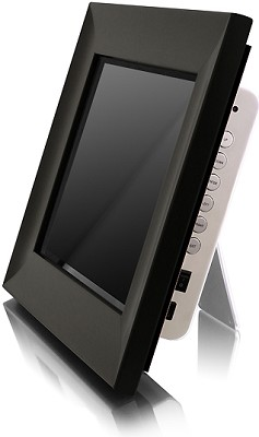 ADMPF210 - 10.5' Digital Photo Frame w/ 256MB Memory, Wireless Remote (Black)