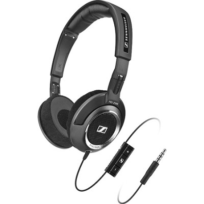 HD238i - Open-Aire(TM), On-Ear Headphones w/ High Resolution Stereo Sound & Mic