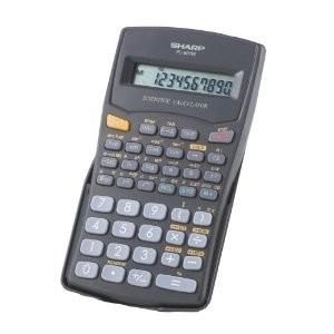 EL-501WBK 10 Digit 131 Function Calculator