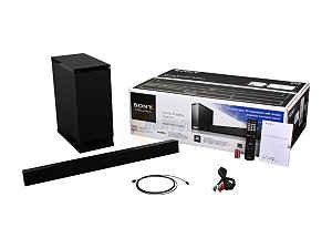 HTCT150 Virtual 5.1 Channel Sound Bar - Black - OPEN BOX