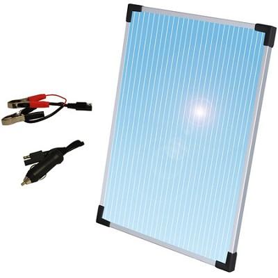 10 Watt Solar Panel 12V Battery Trickle Charger for Cars - 58025