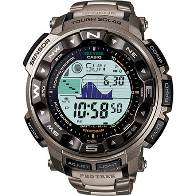 PRW2500T-7 - Triple Sensor Altimeter Watch