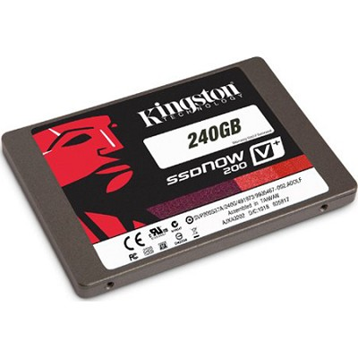 240GB SSD Now V+200 SATA 3 2.5 (7mm height) w/Adapter