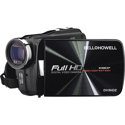 DV5HDZ Slim 1080p Full HD Digital Video Camcorder with Touchscreen