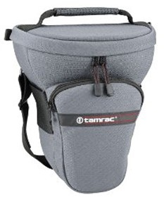 517 Tele-Zoom Pak Holster Bag - for Digital SLR w/ Lens up to 7.5 inches (Gray)