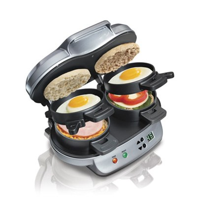 25490 Dual Breakfast Sandwich Maker
