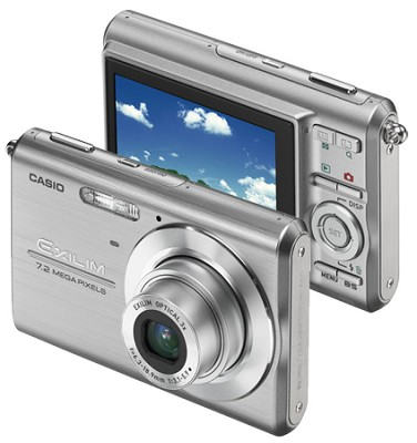 Exilim Z75 7.2 MP wtih 2.6` Wide LCD - Anti-Shake DSP (Silver)