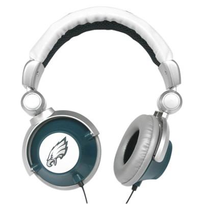 NFL Football Licensed Philadelphia Eagles DJ Style Headphones