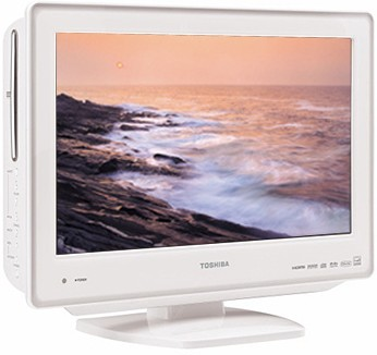 19LV611U - 19` High-definition LCD TV w/ built-in DVD Player (Hi-Gloss White)
