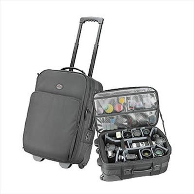 5552 Black SpeedRoller 2 Rolling Photo/Laptop Case (Black)