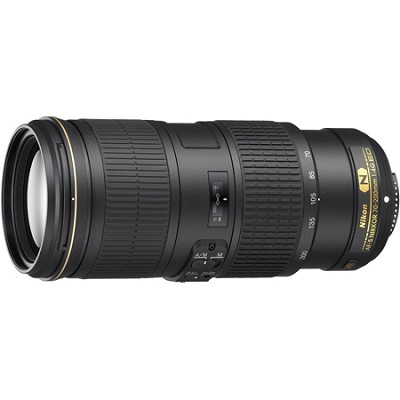 AF-S NIKKOR 70-200MM F/4G ED VR Lens for Nikon Digital SLR Cameras