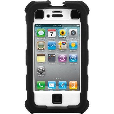 iPhone 4/4S Ballistic Hard Core (HC) Series Case - Black/White