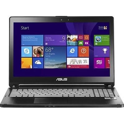 2-in-1 15.6` Touch-Screen Intel Core i5-4210U Black Notebook - OPEN BOX