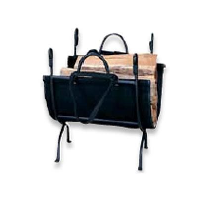 UF 18` Log Holder Wrought Iron