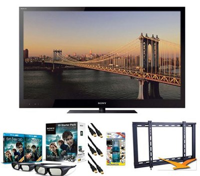 BRAVIA KDL-55HX820 55` 1080p 3D LED HDTV Bundle
