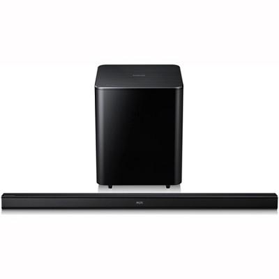 HW-F550 - 2.1-ch Wireless Soundbar w/ Wireless Subwoofer & Bluetooth (Blk)