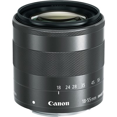 EF-M 18-55mm f3.5-5.6 IS STM Lens For EOS M Camera
