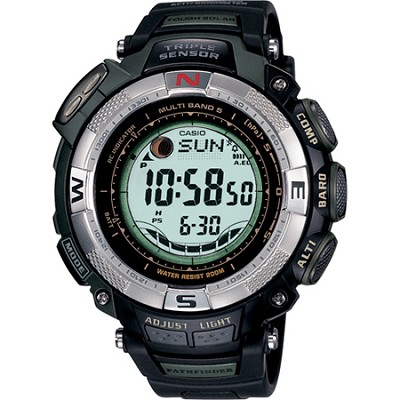 PAW1500-1V - Pathfinder Multi-Band Solar Atomic Ultimate Watch - OPEN BOX