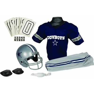 NFL Deluxe Team Small Uniform Set - Dallas Cowboys, Small - OPEN BOX
