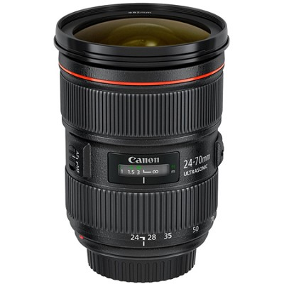 EF 24-70mm f/2.8L II USM L-Series Standard Zoom Lens (5175B002) - Black