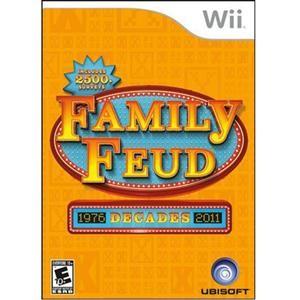 Family Feud Decades 2011 Wii