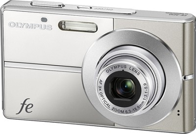 FE-3010 12MP 2.7` LCD Digital Camera (Titanium)