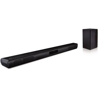 LAS450H - 2.1ch 220W Bluetooth Soundbar w/ Wireless Subwoofer