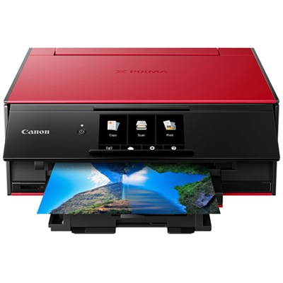 PIXMA TS9120 Wireless All-In-One Printer, Red