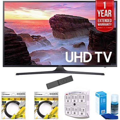 65` 4K Ultra HD Smart LED TV 2017 Model with Extended Warranty Kit