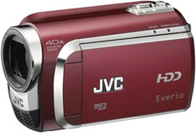 Everio GZ-MG630 60G Hard Disk Drive Camcorder Red