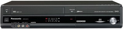 DMR-EZ47K Progressive DVD/VCR Combo Recorder w/ 1080p Upconversion & SD Slot