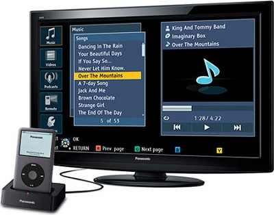 TC-L32X2 VIERA 32-Inch 720p LCD HDTV with iPod Dock - Open Box