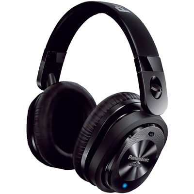 Noise Canceling iPhone Compatible Over-the-Ear Headphone, Flat-Fold-Black